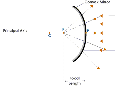 Can Anyone Give Me The Ray Diagrams Of Concave And Convex Mirrors