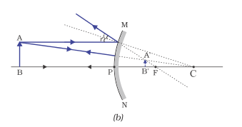 Draw a ray diagram to show image formation in a convex mirror whe image formation by a convex mirror when object is placed beyond f ccuart Gallery