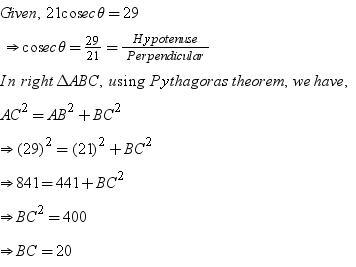 If 21 Cosec Theta 29 Find Value Of Cos2theta Sin2theta 1 2 Sin 2 Theta Math Introduction To Trigonometry 5620258 Meritnation Com