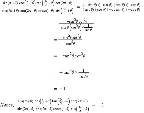 Evaluate Sin Pi Theta Cos Pi 2 Theta Tan 3pi 2 Theta Cot 2pi Theta Sin 2pi Theta Cos 2pi Theta Cosec Theta Sin 3pi 2 Theta Math Trigonometric Functions 6241183 Meritnation Com