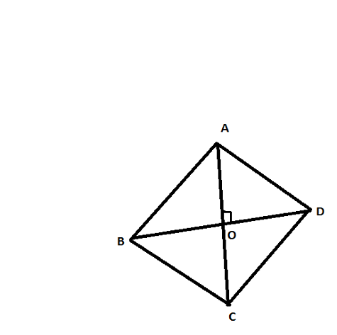 how to find area of rhombus with diagonals