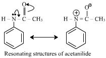 Reactivies of anisole aniline and acetanilide