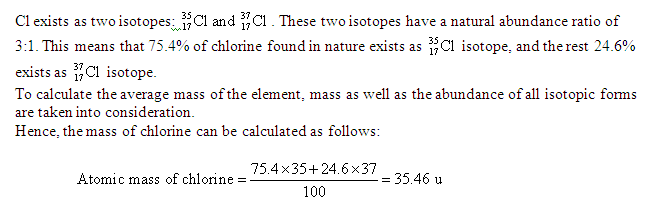 What Is The Qualitative Meaning Of The Symbol Of Chlorine Cl Of
