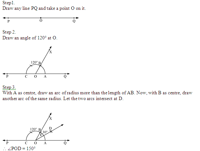 how to construct an angle of 37 5 degrees with ruler and