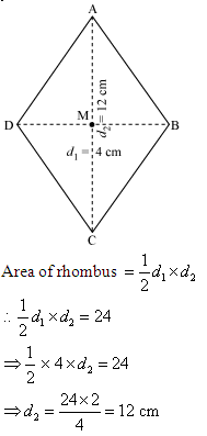 area of a rhombus Area of rhombus,how to find area of any rhombus,mensuration,properties of  rhombus.
